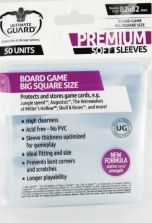 Ultimate Guard Board Games Sleeves Square Big