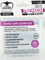 Ultimate Guard Board Games Sleeves Square 73x73mm