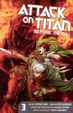 ATTACK ON TITAN TP 03 BEFORE THE FALL