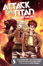 ATTACK ON TITAN TP 05 BEFORE THE FALL