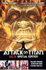ATTACK ON TITAN TP 16 PLAYING CARD EDITION