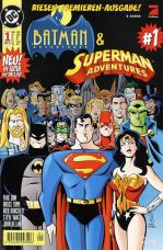 BATMAN+SUPERMAN SET ADVENTURES 01-08