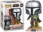 Pop Star Wars Mandalorian Flying