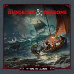 Dungeon & D Calendar 2021 Dungeon+Dragon