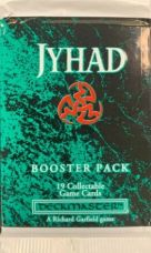 Jyhad Card Game Booster Pack