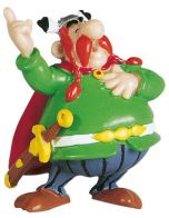 Asterix Figure Majestix Figure