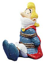 Asterix Figure Troubadix Gefesselt
