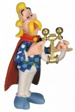 Asterix Figure Troubadix Harfe
